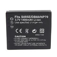 1400mah 3.7V digitalkamera batteri s005/bcc12 for Panasonic DMC-fx8 og mer