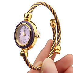 Dames Modieus horloge Polshorloge Armbandhorloge Kwarts Band Meerkleurig Merk