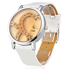 Dámské Módní hodinky Křemenný Silikon Kapela Třpyt Bílá Značka-