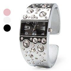 Alloy Band Quartz Bracelet Watch For Women Cool Watches Unique Watches Strap Watch