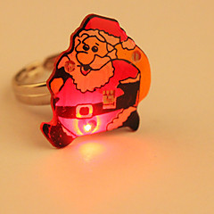 Cartoon conduit anneau de clignotant (Santa Claus)