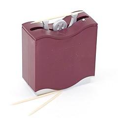 자동 헤라클레스 치아는 사람 이쑤시개 상자 기계 디스펜서 임의의 색상을 들어 올려 홀더 무게를 선택