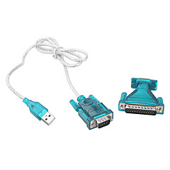 USB 2.0 to RS232 Plastics Shell Adapter (1M)