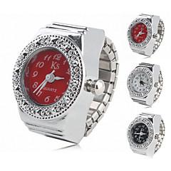 informal de las mujeres de aleación del anillo reloj analógico (colores surtidos)