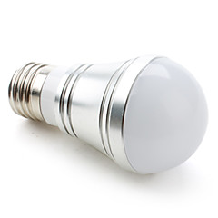 3W E26/E27 LED Globe Bulbs A50 9 SMD 5730 250 lm Warm White / Cool White / Natural White DC 12 V
