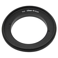 Anneau inverse 58mm pour appareils photo reflex numériques nikon