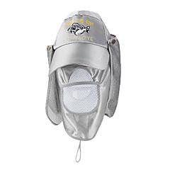 Outdoor Flap Fishing Cap (Silver)
