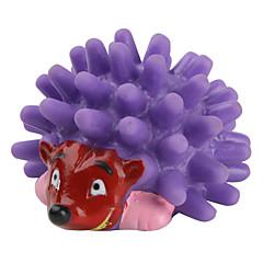 개를위한 찍찍 거리는 미니 고슴도치 장난감