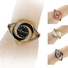 Women's Watch Bracelet Whirlwind Circle Style Gold Alloy  Cool Watches Unique Watches