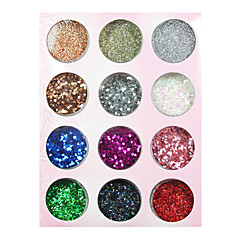 Colorful Twinkle Nail Act Nail Decorations
