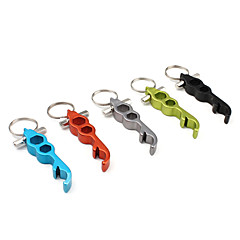 Multi-Function Key Chain Bottle Opener