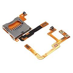 korvaaminen linja lanka ja SD-kortinlukija paikka Nintendo DSi XL ja DSi LL