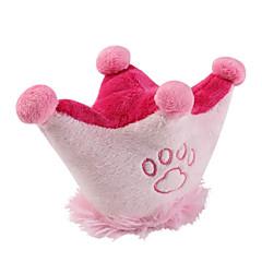 Stellfläche Krone Stil weichen Haustier quietschende Spielzeug für Hunde (14 x 10cm)