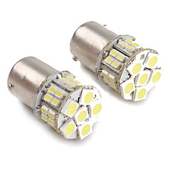1156 28 x 1206 and 6 x 5050 SMD White LED Car Signal Light