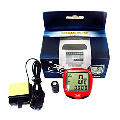 Digital LCD vattentät cykeldator cykel hastighetsmätare