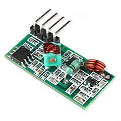 DIY 433MHz langaton vastaanottomoduulista Arduino (vihreä)