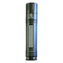 LED Flashlights / Handheld Flashlights LED 2 Mode 100 Lumens Cree XP-G R5 AA Others , Black Aluminum alloy
