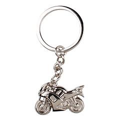 metall sølv kul motorsykkel nøkkelring
