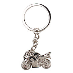 metal sølv køligt motorcykel nøglering