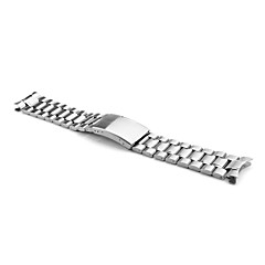 Unisex Stainless Steel Watch Band 20MM (Silver) Cool Watch Unique Watch Fashion Watch