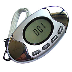 HOYOU Multifunction Pedometer with Steps, Distance Calories & Fat Measuring Running Walking