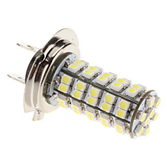 H7 3W 68-SMD 240-270LM White Light LED Bulb for Car Fog Lamp (12V)