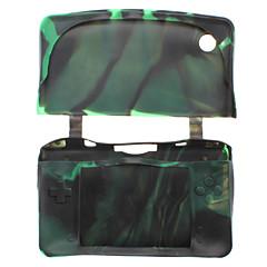 skyddande kamouflage silikon för Nintendo DSi XL / LL (blandade färger)