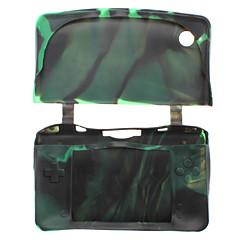 Beschermende Camouflage siliconen case voor de Nintendo DSi XL / LL (verschillende kleuren)