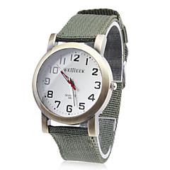 Men's Fabric Analog Quartz Wrist Watch (Assorted Colors)