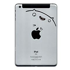 Katze Gesicht Entwurfsschutz Aufkleber für ipad mini 3, iPad mini 2, iPad mini