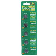 Bateria de lítio CR1220 botão (3 v)