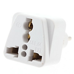 EU Plug naar meerdere Plug Universal Travel Adapter (110-240V)