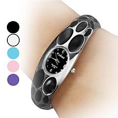 Damen Stahl Analog Quarz Armband Watch (verschiedene Farben)