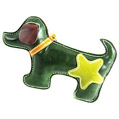 개 장난감 씹는 장난감 가죽 멀티컬러