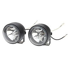 NS60 55W 4000K 1000-Lumen H3 Halogen Yellow Light Car Fog Lamps (DC 12V, Pair)
