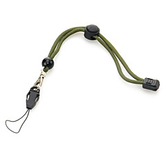 PVC Plastic+Rubber+Nylon Outdoor Scalable Tactical Hand Rope(Green)