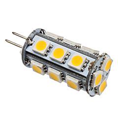 2W G4 LED Corn Lights T 18 SMD 5050 110 lm Warm White DC 12 V