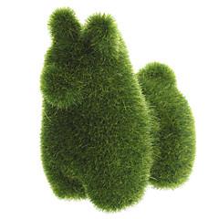 Grass Land animal cheval à la main avec le gazon artificiel