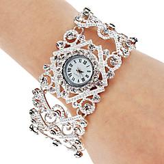 Women's Alloy Analog Quartz Bracelet Watch (Silver) Cool Watches Unique Watches