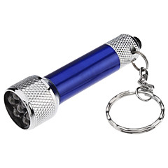 Mini Kirkas 7-LED taskulamppu Torch avaimenperä (4xLR44)