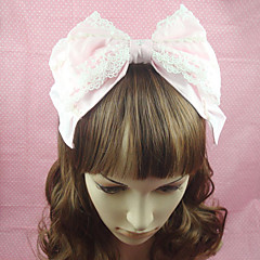 Pink Cotton Bow Sweet Lolita Headband