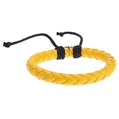 z&X® pulseira de couro cor de malha pura