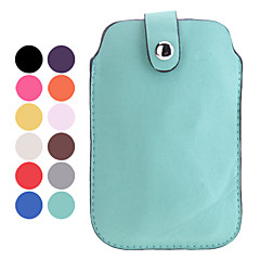 Elegant Solid Color Protective PU Leather Pouch Case for iPhone 5/5S and iPhone 4 (Assorted Colors)