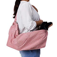Singola spalla Slope Tipo Red Stripe modello Pet Zaino da viaggio per cani