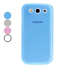Solide étui en silicone de couleur pour Samsung Galaxy S3 I9300 (couleurs assorties)