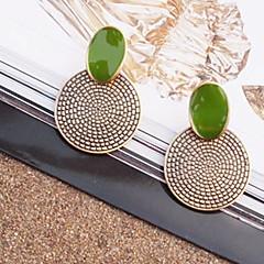 Γυναικεία Κουμπωτά Σκουλαρίκια κοστούμι κοστουμιών Πεπαλαιωμένο Κοσμήματα με στυλ Κοσμήματα Κράμα Circle Shape Κοσμήματα Κοσμήματα Για