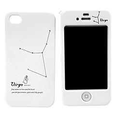 Neitsyt Pattern Hard Full Body Case for iPhone 4/4S