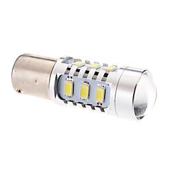 1156 4W 15x5730SMD Natural White Light LED Bulb for Car Brake/Turning Signal Lamp (12V)