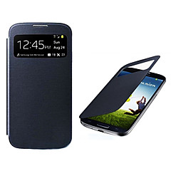 Auto Sleep/Wake Up S View Screen Visible Full Body Case for Samsung Galaxy S4 I9500(Assorted Color)