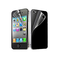 12X Clear Front and Back Screen Protector for iPhone 4/4S